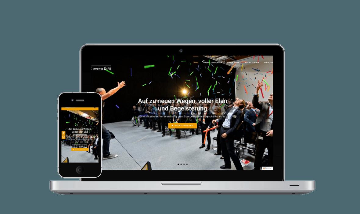 Zeitgeist Webseite - PKOM Online Werbeagentur Wien