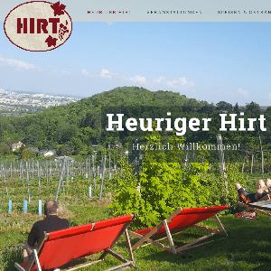 Erstellung Webseite und Blog Heuriger Hirt
