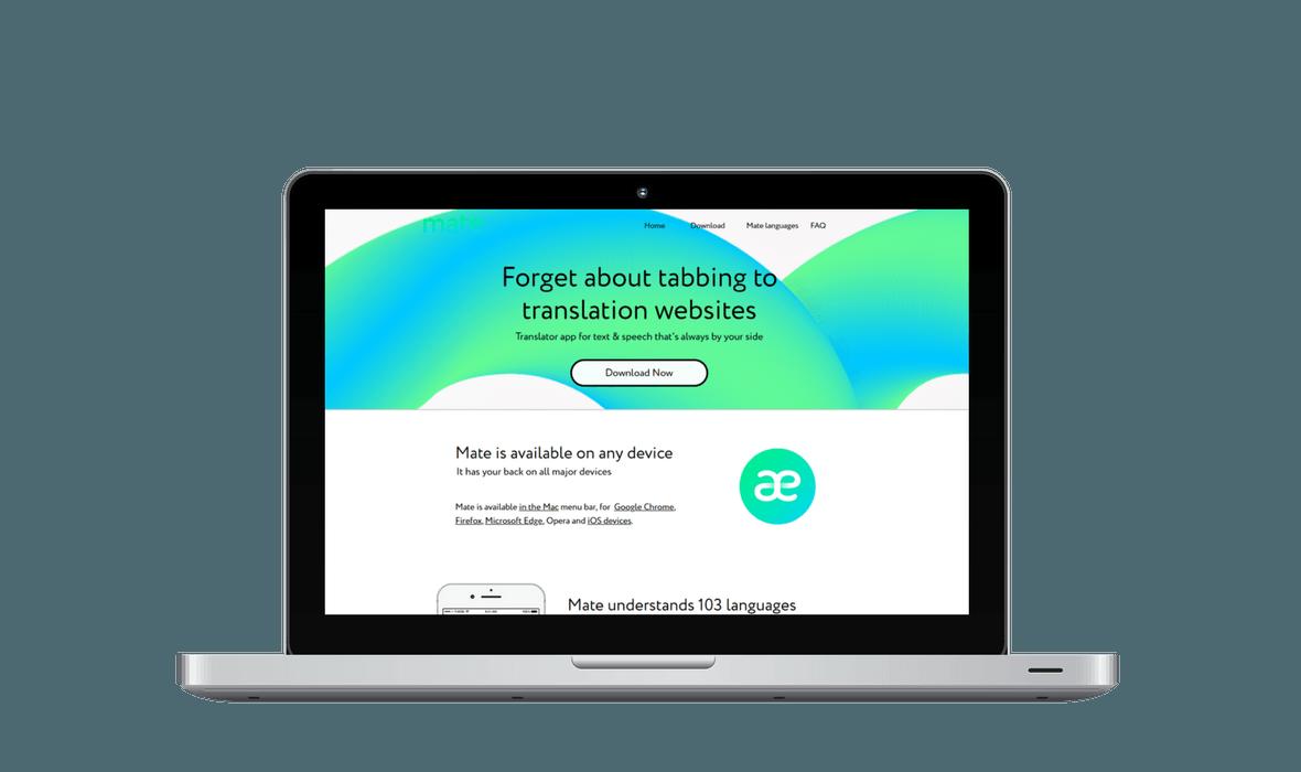 Mate Translate SEA Kampagne - PKOM Online Werbeagentur Wien