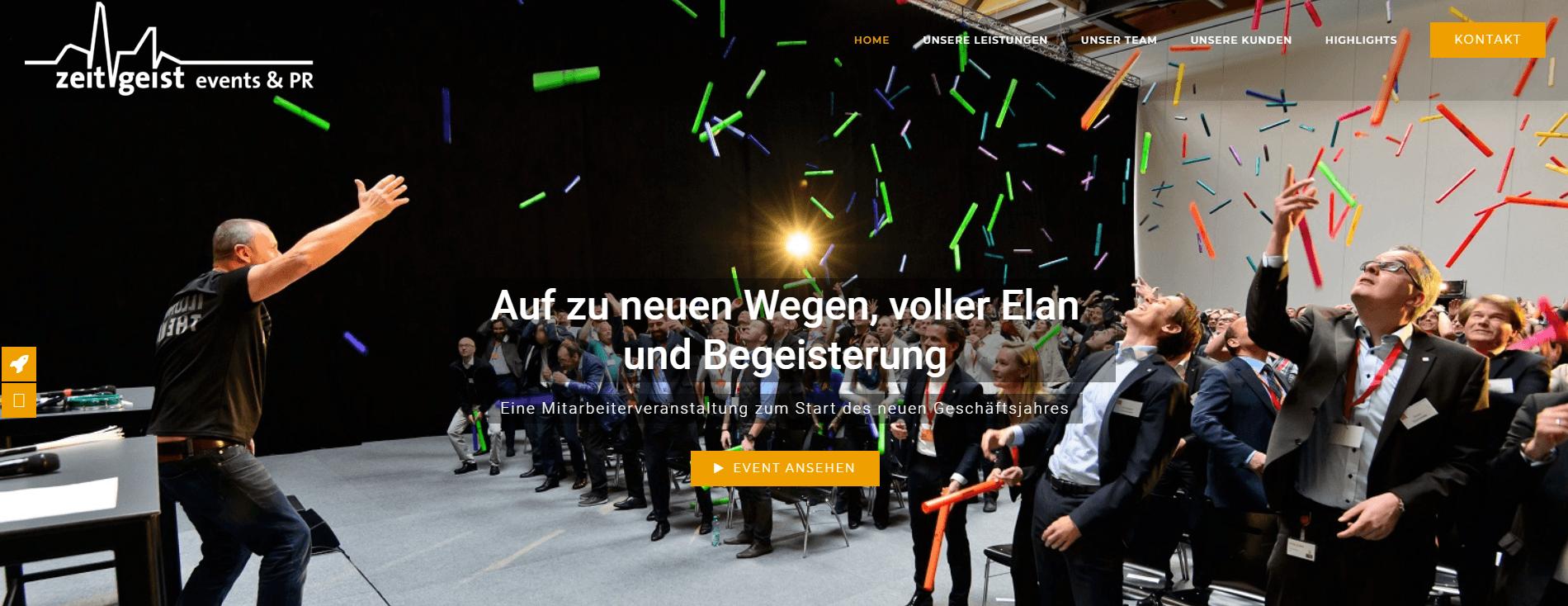 Zeitgeist Webseiten Erstellung - PKOM Webagentur Wien