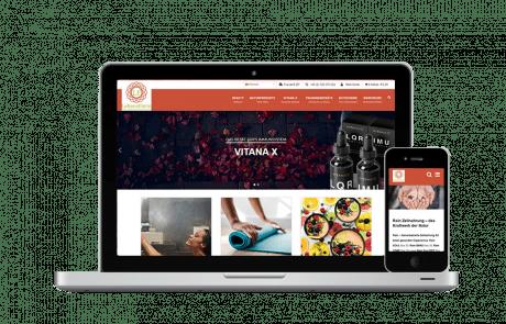 Webshop Erstellung, SEO, GoogleAds und E-Mail Marketing LebensForm - PKOM Online Werbeagentur Wien